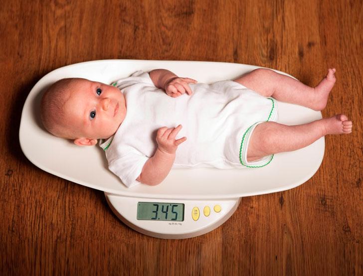 От чего зависит вес новорожденного ребенка